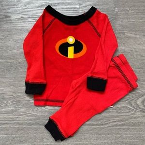 Disney The Incredibles 2 Piece Pijamas 6-9M